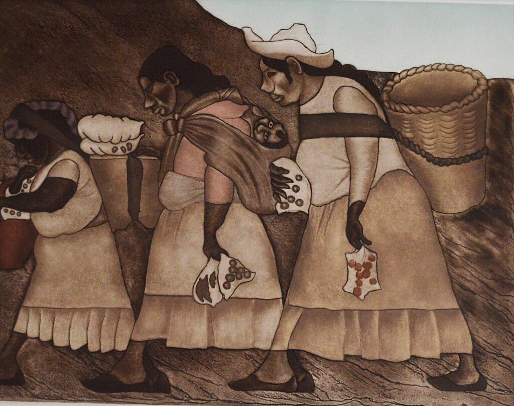 Shinzaburo Takeda.   | Grabado: Impresión 38 x 50 cm; Papel 56 x 76 cm