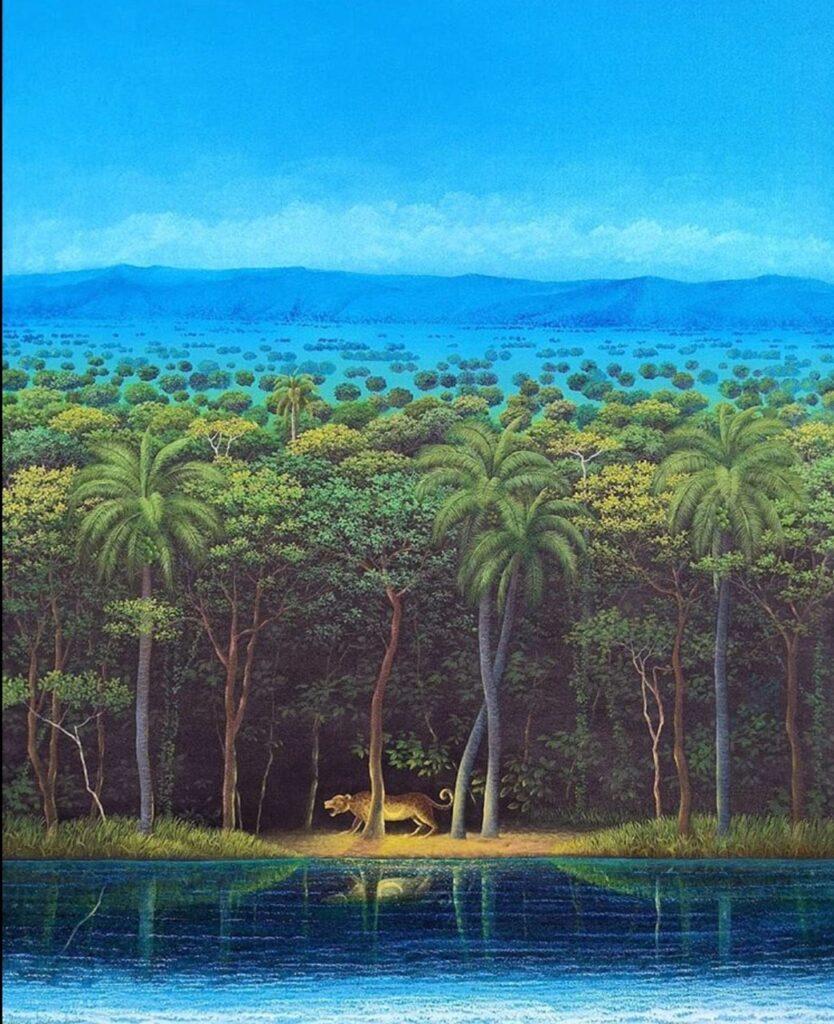 Emiliano López  |  Oleo sobre tela 108 x 88 cm