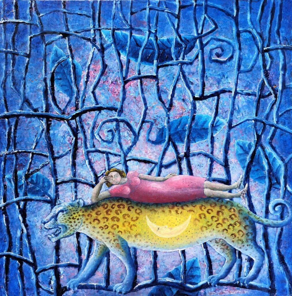Emiliano López  | óleo sobre panel  40 x 40 cm