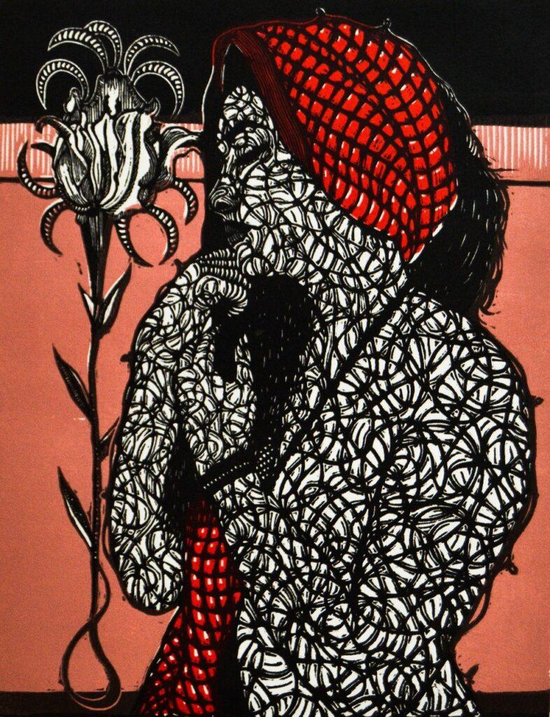 Alan Altamirano  |  Xilografía 40 x 30 cm