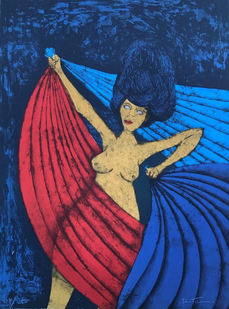 Salome  |  Rufino Tamayo  |  Litografía 76 x 56 cm