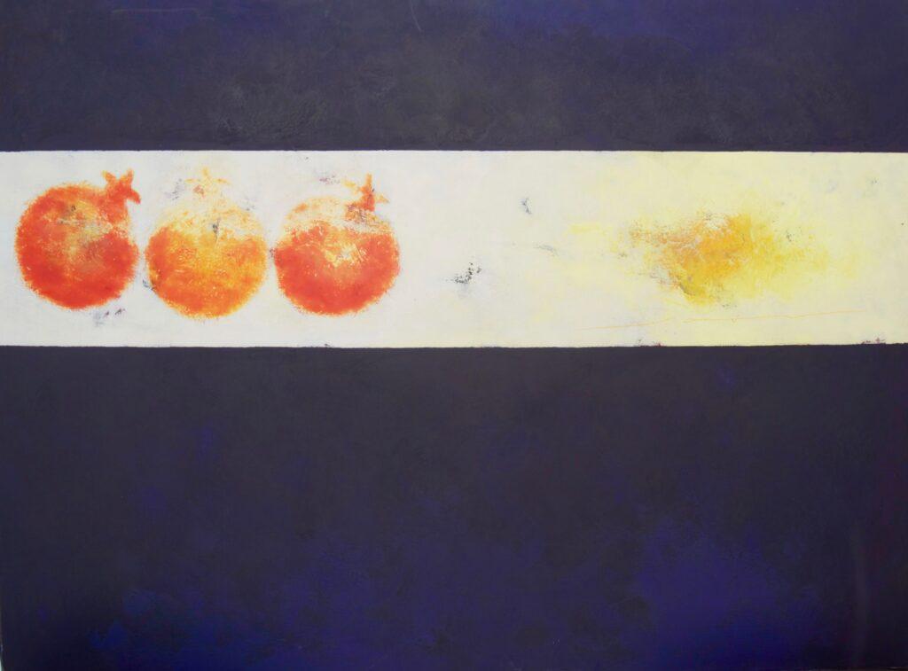 "Saúl Castro, ""Sin titulo"",Técnica: Óleo sobre tela, Medidas:  100 x 150 cm."