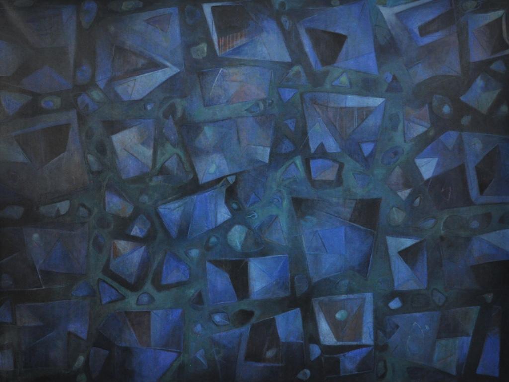 """Sin título"", Óleo sobre lienzo, 150 x 200 cm"